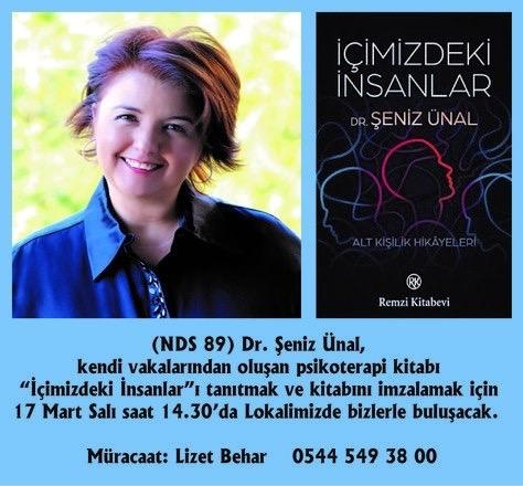 DR. ŞENİZ ÜNAL İLE SÖYLEŞİ-ERTELENDİ